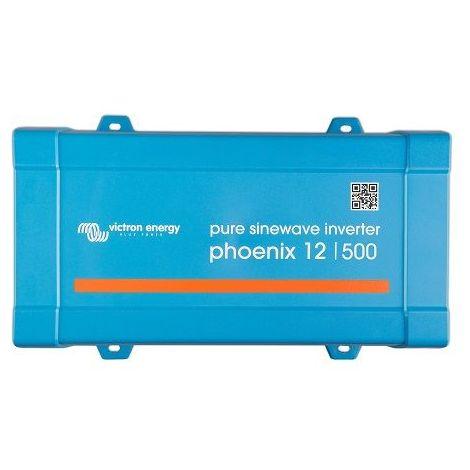 Convertisseur 220V 500 VA (400 Watts) Pur Sinus VICTRON (Voltage : 12 volts)