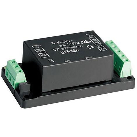 Convertisseur c.a./c.c. 15W monosortie, tension : 24V cc, courant : 625mA