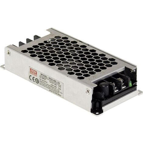Convertisseur CC/CC Mean Well RSD-60L-12 RSD-60L-12 24 V/DC, 36 V/DC, 48 V/DC, 72 V/DC - 12 V/DC/5 A 60 W 1 pc(s)