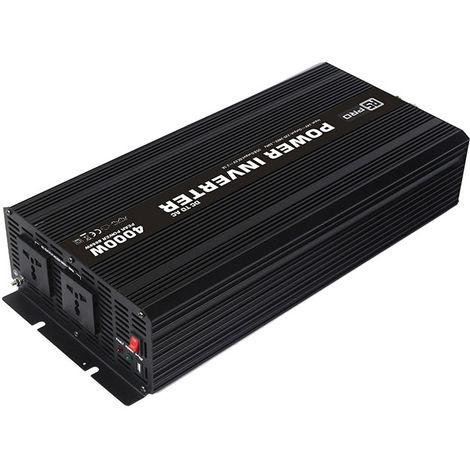 Convertisseur continu-alternatif, Onde sinusoïdale modifiée, 24V cc / 230V ac - 4000W