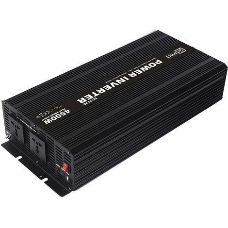 Convertisseur continu-alternatif, Onde sinusoïdale modifiée, 24V cc / 230V ac - 4500W