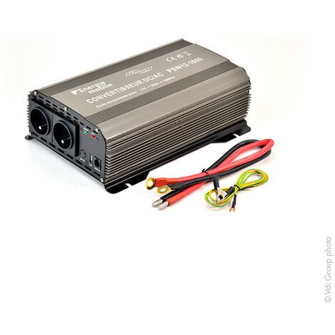 Convertisseur DC/AC 12/230V 1600W pur-sinus PSW - Sortie cosses oeillets