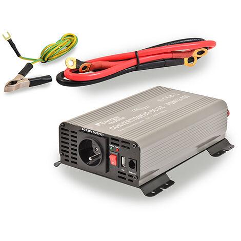 Convertisseur DC/AC 12/240V 700W pur-sinus PSW - Sortie cosses oeillets