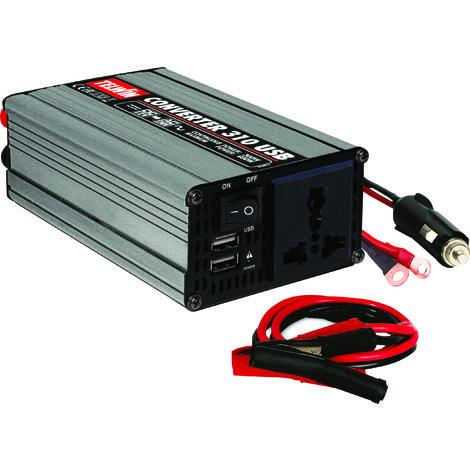 Convertisseur de courant 12V-230V 300W TOPCAR 05120