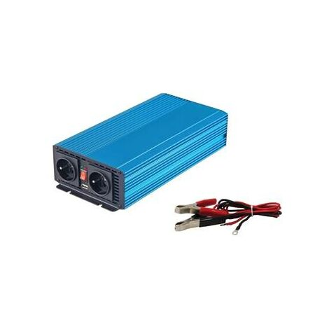 Convertisseur de courant 12V 230W 1000W en continu (2000W en pointe)