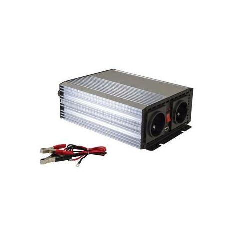 Convertisseur de courant 12V 230W 700W en continu (1400W en pointe)