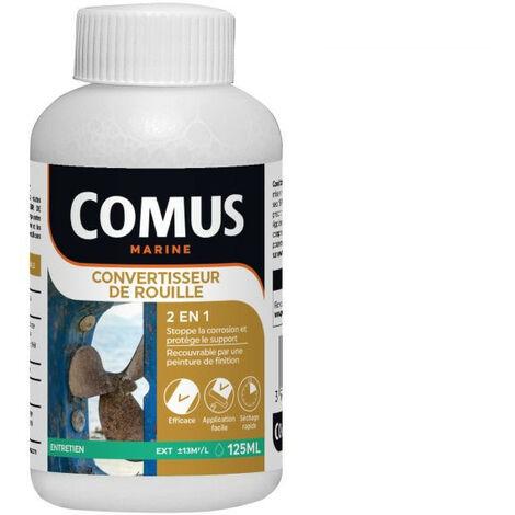 CONVERTISSEUR DE ROUILLE 125ML - Solution Acide Minérale en phase aqueuse - COMUS MARINE
