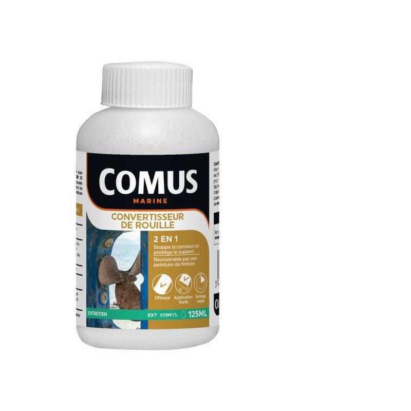 CONVERTISSEUR DE ROUILLE 125ML - Solution Acide Minérale en phase aqueuse - COMUS MARINE - incolore