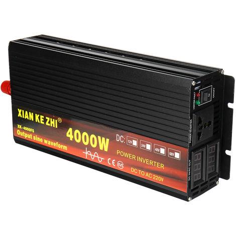 Convertisseur Onduleur Puissance 50Hz Onde Sinusoïdale Pure Transformateur Chargeur électronique Automatique