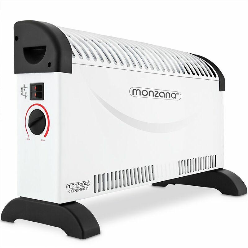 Convettore riscaldatore elettrico 2000 W 3 livelli di riscaldamento Termoventilatore
