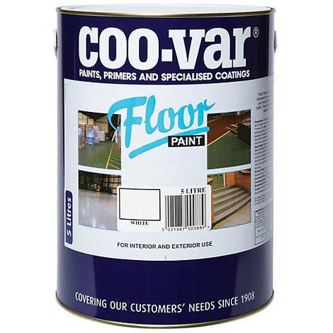 Coo-Var Floor Paint 5L (select colour)