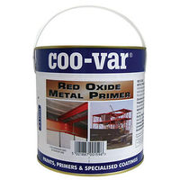 Coo-Var Red Oxide Metal Primer (select size)
