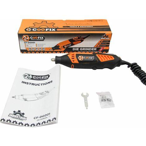 COOFIX Mini perceuse électrique stylo graveur Portable multifonction 6 positions rectifieuse rotative à vitesse variable