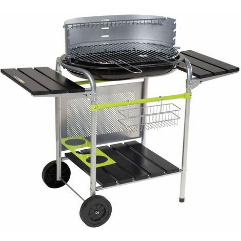 Cook'in Garden - Barbecue au charbon de bois CLASSY - Noir