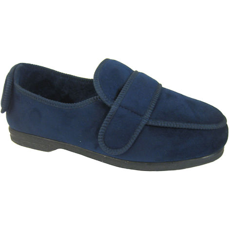 Coolers Mens CosyComfort Adjustable Fit Orthopaedic Slippers