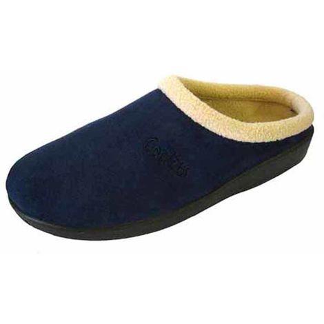 Coolers Womens 289 Microsuede Fleece Lined Mule Slippers