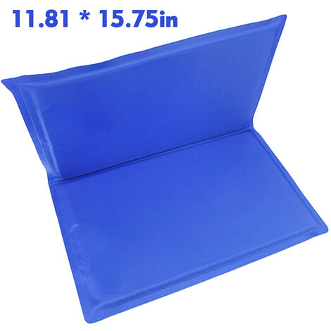 """main image of """"Cooling Mat Pad for Dogs Cats Ice Silk Mat Cooling Blanket Cushion for Sofa/Bed/Floor/Car Seats Cooling"""""""