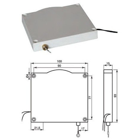 COOPER 471-CSA BURGLAR ALARM Rope contact for roller shutters CON/MICR