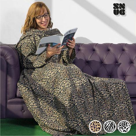Coperta Con Maniche Lana.Coperta Con Maniche Snug Snug Big Tribu 5 1000024353