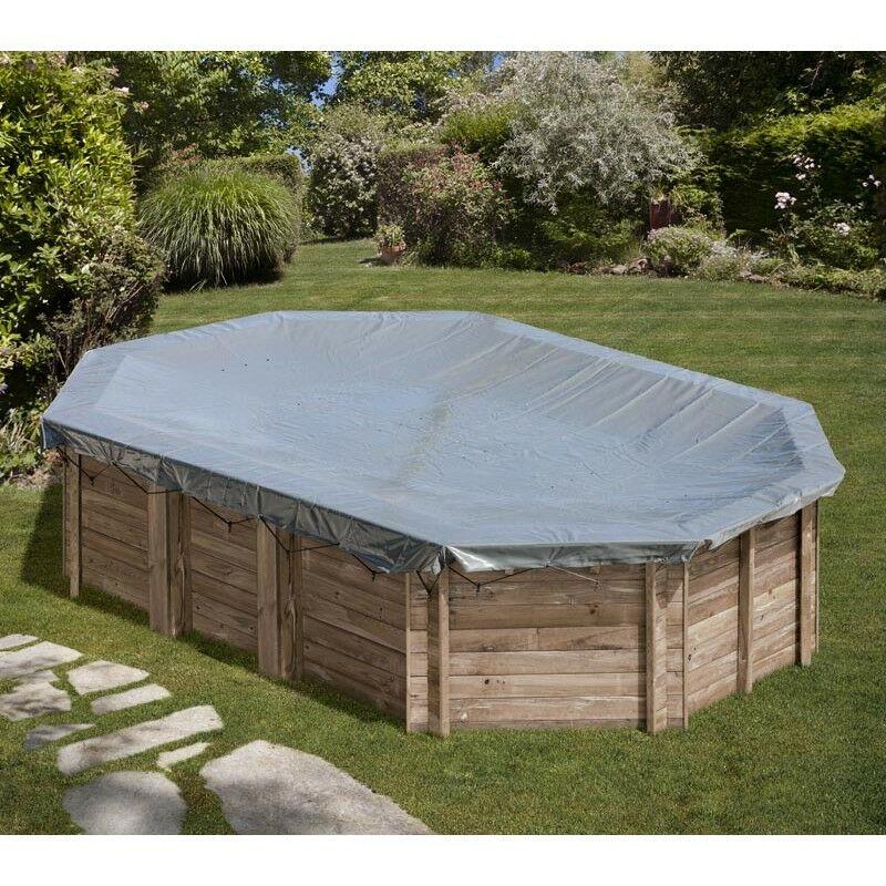 84e7bd21c1aa Telo copertura invernale per piscina Marbella di Gre 400x250 cm Giardino e  arredamento esterni Coperture e avvolgitori