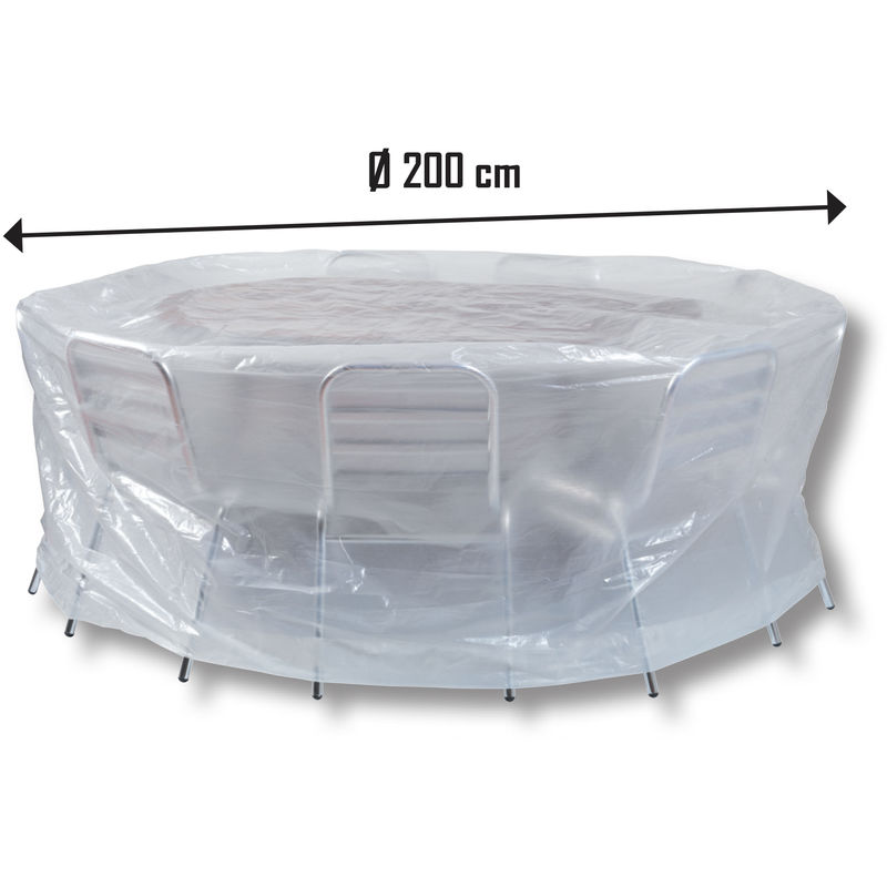 Custodia protettiva copertura per mobili da giardino panca da giardino piano di protezione copertura
