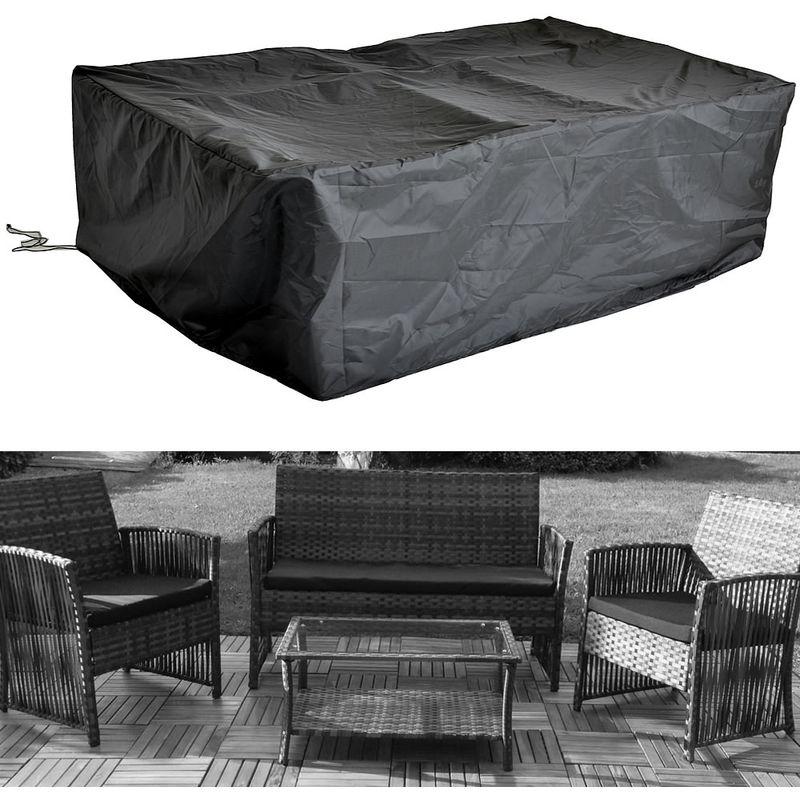 Copertura Telone 135x132x132x78 Copertura gruppo di seduta Mobili da giardino Copertura
