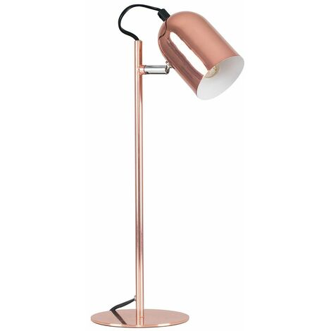 Copper Adjustable Bedside Desk Table Lamp