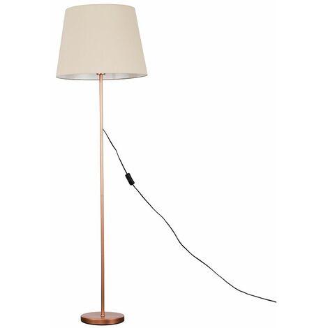 Copper Metal Floor Lamp