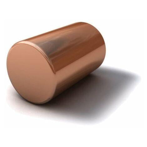 Copper Round Bar x 1Mtr