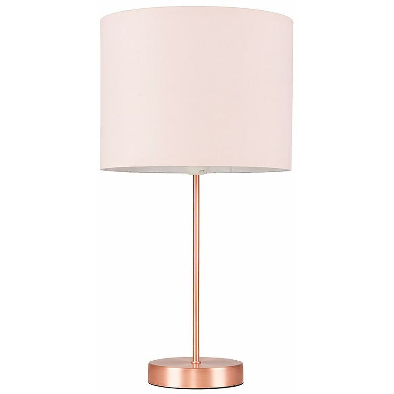 Copper Table Lamp Fabric Lampshades