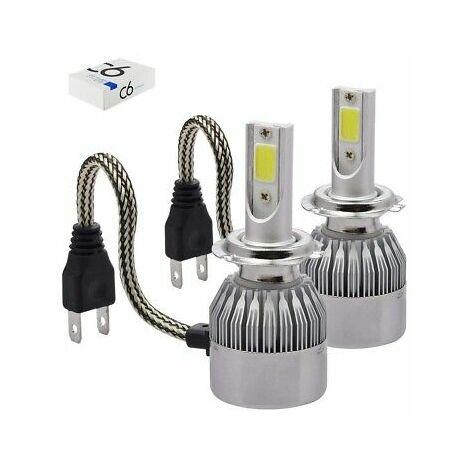 Coppia lampade led auto fari h7 moto kit lampadine 36w for Lampadine h7 led