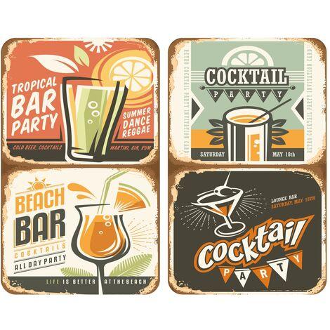 Coprifornelli in vetro Universal Cocktail
