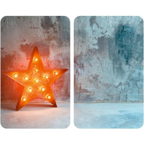 Coprifornelli in vetro Universal Star