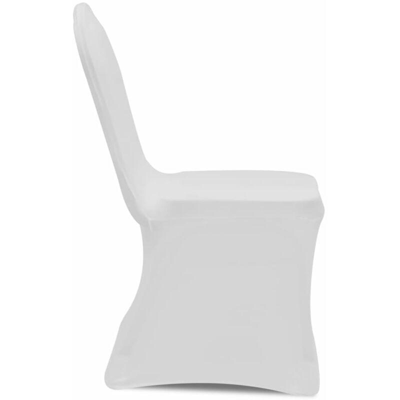 Coprisedia in Tessuto Elasticizzato Bianco Set 50 pz