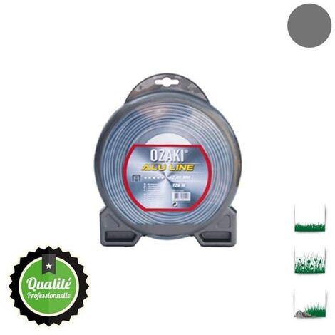 Coque fil nylon bi-composant OZAKI alu line - 3 mm x 56m - qualité professionnelle