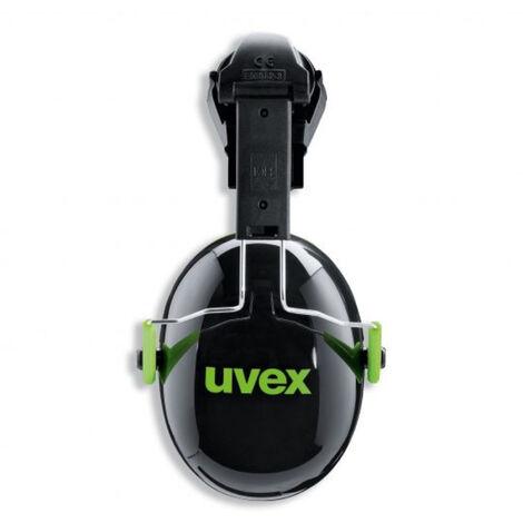 """main image of """"Coquille anti-bruit pour casque de chantier uvex K1H Noir Unique - Noir"""""""