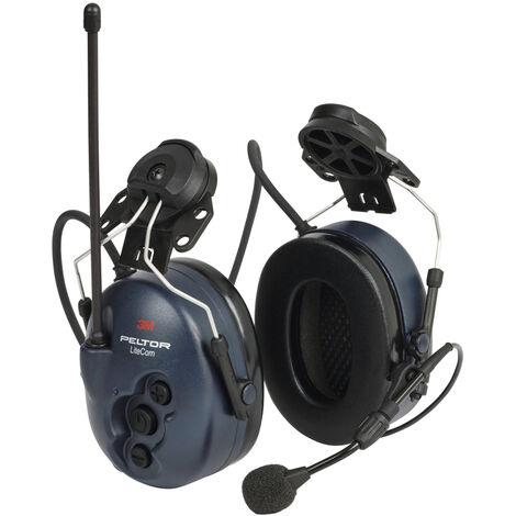 Coquilles antibruit radio 3M Peltor LiteCom, à fixer au casque