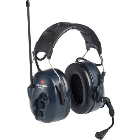 Coquilles antibruit radio 3M Peltor LiteCom, avec serre-tête