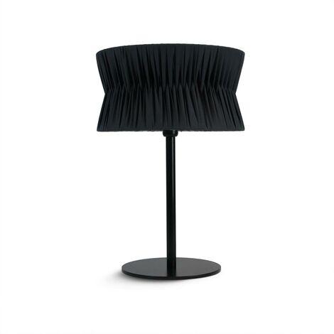 CORA E27 40W Dessus de table Noir Bordure noire EXO 859C-G05X1A-02-RB