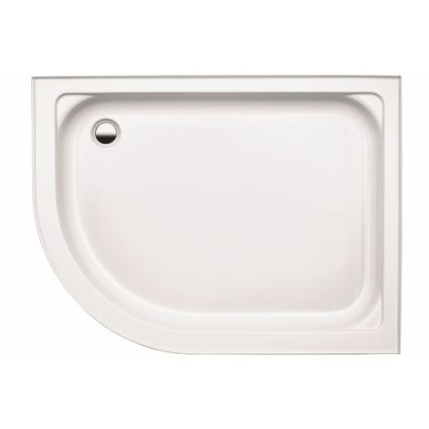 Coram Coratech Shower Tray Easy Plumb Offset Quadrant 1200 x 800 Left Entry