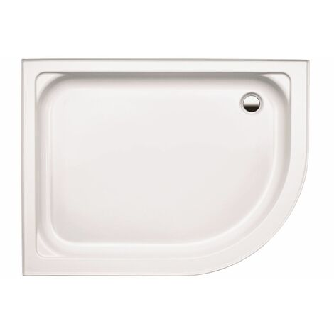 Coram Coratech Shower Tray Easy Plumb Offset Quadrant 1200 x 800 Right Entry
