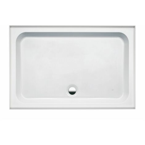 Coram Coratech Shower Tray Easy Plumb Rectangle 1400 x 800 4 Upstands FREE Waste