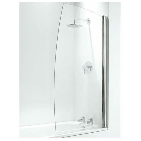 Coram Sail Shower Screen - 800mm Width (SFS80CUC)