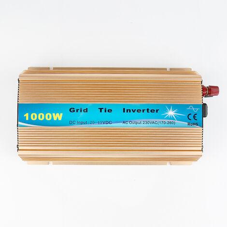 Corbata de rejilla del inversor para inversor de seno puro 1000W Inversor DC 20-45V Gold