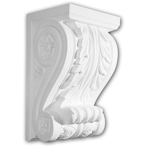Corbel 119001 Profhome Shelve Wall board Decorative Element Corinthian style white