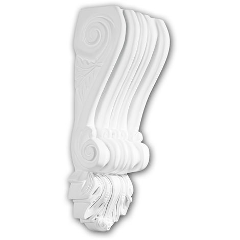 Corbel 119002 Profhome Shelve Wall board Decorative Element Corinthian style white
