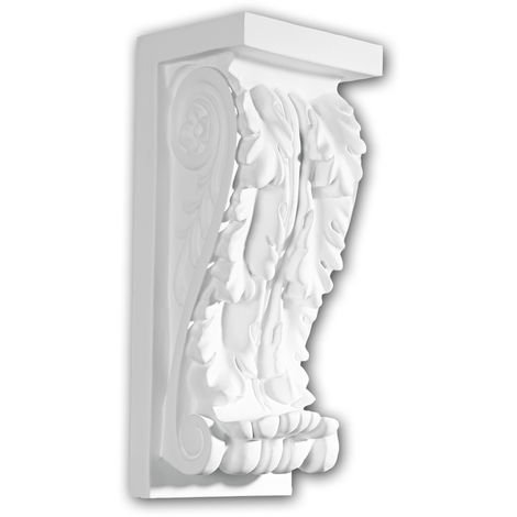 Corbel 119004 Profhome Shelve Wall board Decorative Element Corinthian style white