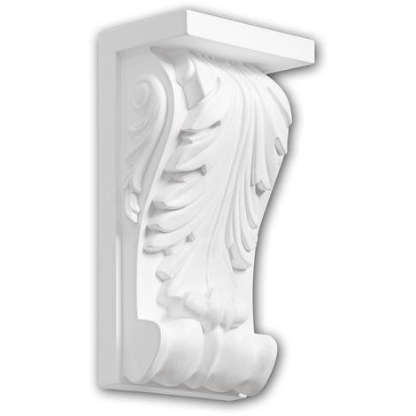 Corbel 119010 Profhome Shelve Wall board Decorative Element Corinthian style white