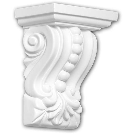 Corbel 119011 Profhome Shelve Wall board Decorative Element Corinthian style white