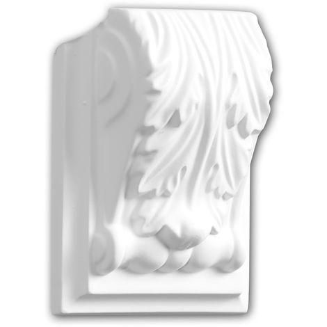 Corbel 119137 Profhome Shelve Wall board Decorative Element Corinthian style white